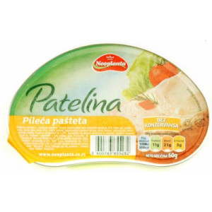 Patelina pileća 60g 8600763655282