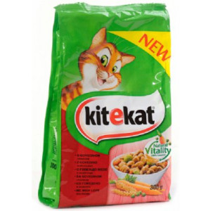 KITEKAT hrana za mačku, briketi govedina 300 gr 520134