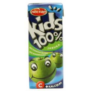 SOK KIDS JABUKA 100% 0,2L NECTAR