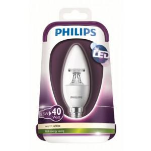 SIJALICA LED 5,5W E14 B35 CL PHILIPS