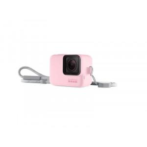 GOPRO silikonska zaštita kućišta i vezica (pink) ACSST-004