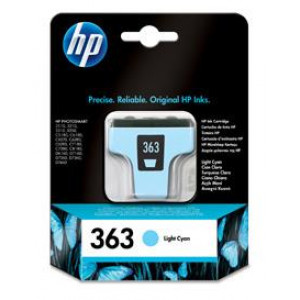 HP No.363 Light Cyan Ink Cartridge Photo Smart 8250/3210/3310 C8774EE