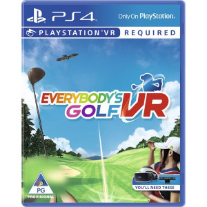 PS4 Everybody's Golf (VR Required)