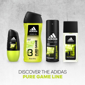 ADIDAS MAN PURE GAME SET