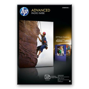 HP foto papir Advanced Glossy 250 g/m2,25 sht/10 x 15 cm borderless