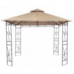PANAMA metalna gazebo tenda sa duplim krovom 037926