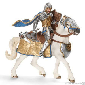 SCHLEICH grifonski vitez na konju 70108