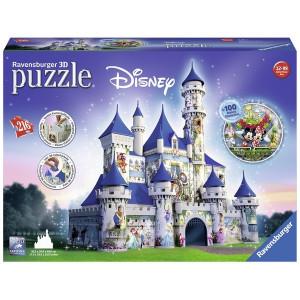 RAVENSBURGER 3D puzzle (slagalice) -  Dizni dvorac RA12587