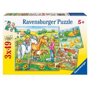 RAVENSBURGER puzzle - Životinje RA09293