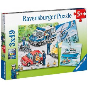 RAVENSBURGER puzzle - Policija u akciji RA09221