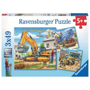 RAVENSBURGER puzzle - Velike graditeljske mašine RA09226
