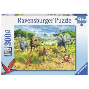 RAVENSBURGER puzzle (slagalice) - Afrička družina RA13219