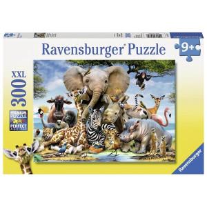 RAVENSBURGER puzzle (slagalice) - Afrički prijatelji RA13075