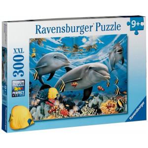 RAVENSBURGER puzzle (slagalice) - Delfini RA13052