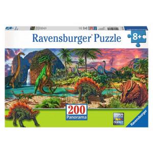 RAVENSBURGER puzzle (slagalice) - Dinosaurusi panorama RA12747