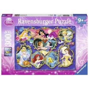 RAVENSBURGER puzzle (slagalice) - Diznijeve princeze na okupu RA13108