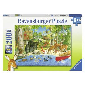 RAVENSBURGER puzzle (slagalice) - Životinje RA12740
