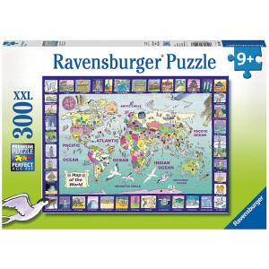 RAVENSBURGER puzzle (slagalice) - Pogled na svet RA13190