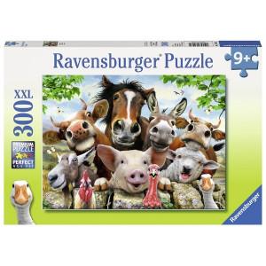 RAVENSBURGER puzzle (slagalice) - Selfi sa farme RA13207