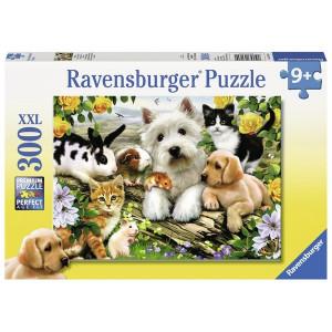 RAVENSBURGER puzzle (slagalice) - Srećne životinje RA13160
