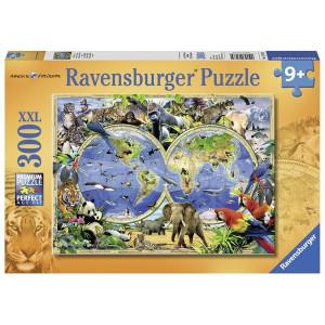 RAVENSBURGER puzzle (slagalice) - Svet divljih životinja RA13173