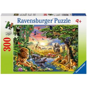 RAVENSBURGER puzzle (slagalice) - Veče u divljini RA13073
