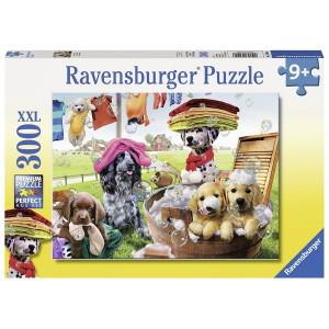 RAVENSBURGER puzzle (slagalice) - Vesela družina RA13205