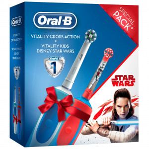 ORAL B POC BRUSH VITALITY + KIDS STAR WARS