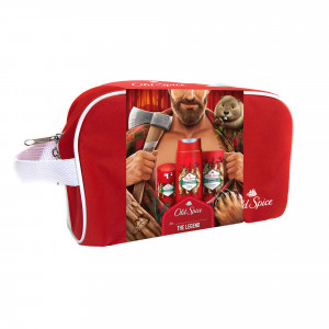 OLD SPICE GIFT Tbag Bearglove Stick+SG+ASL