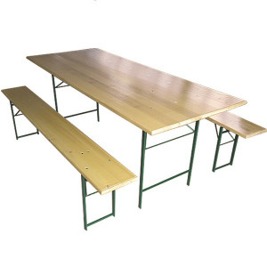 STOUT baštenski set sto + 2 klupe – 200x80cm 056026