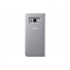 SAMSUNG stojeća futrola Clear View Galaxy S8+ SREBRNA EF-ZG955-CSE