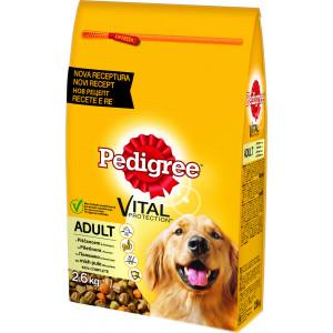 PEDIGREE hrana za pse, živina i povrće 2.6kg 520222