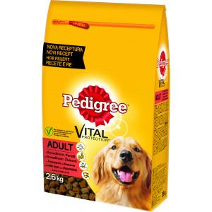 PEDIGREE hrana za pse briketi, govedina i živina 2.6kg 520223