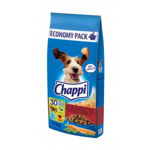 CHAPPI  hrana za pse, govedina i živina 13,5kg 520156