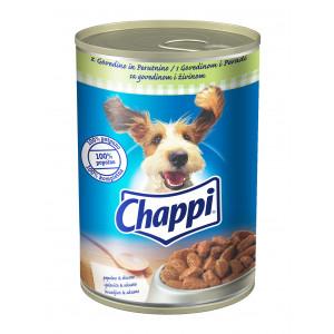 CHAPPI hrana za pse konzerva, govedina i šargarepa 400g 520116