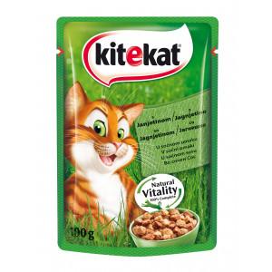 KITEKAT hrana za mačku, jagnjetina 100g 520007
