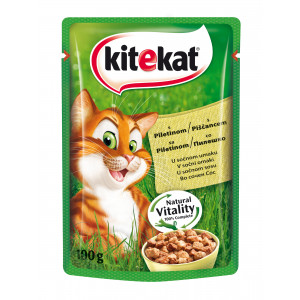 KITEKAT hrana za mačku, piletina 100g 520006