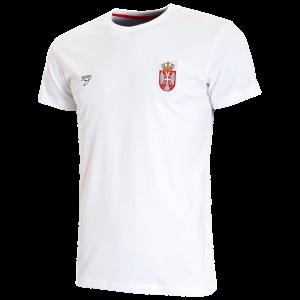 KEEL majica Vaterpolo reprezentacije Srbije bela