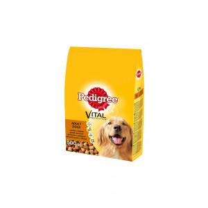 PEDIGREE hrana za pse, briketi, zivina i povrce 500g 520220