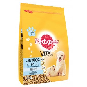 PEDIGREE briketi, Junior piletina 3kg 520227