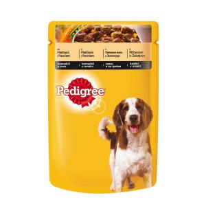 PEDIGREE hrana za pse adult, piletina i povrće 100g 520125