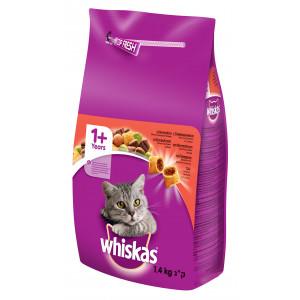WHISKAS hrana za mačku briketi, govedina 1.4kg ARCH 520201