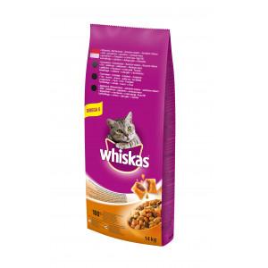 WHISKAS hrana za mačku, briketi, govedina 14kg 520211