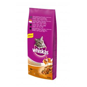 WHISKAS hrana za mačku briketi, piletina 14kg 520212