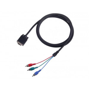 S BOX kabl SVGA 102, HD15 A-3xRCA  2m