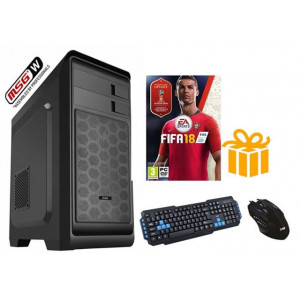 MSGW world cup gamer G4560/8GB/1TB/1050TI-4GB/DVD/T+M/FIFA18