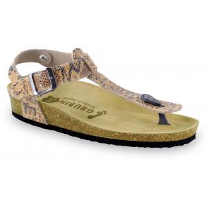 GRUBIN ženske papuče 0953610 TOBAGO Šarene1