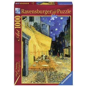 "RAVENSBURGER puzzle (slagalice)- Van Gog ""Terasa kafane u noći"" RA15373"