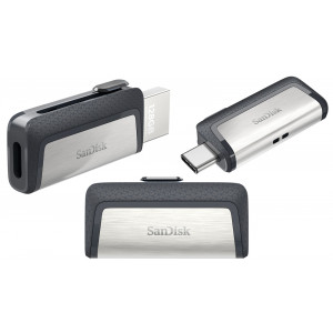 SanDisk Dual Drive USB Ultra 16GB Type C