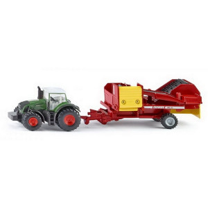 SIKU traktor sa prikljuckom 1808